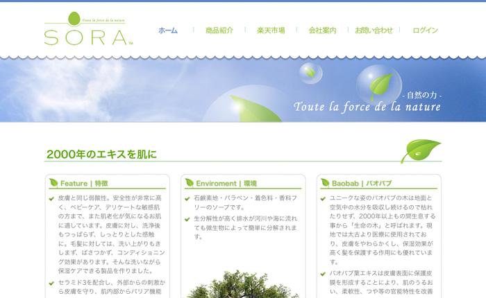Webdesign: Ecommerce Kosmetik
